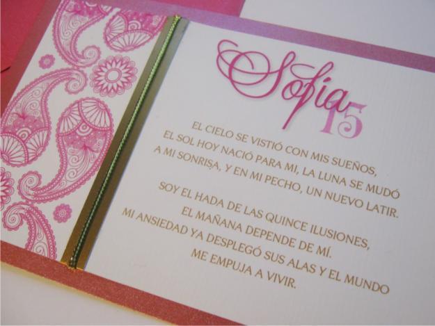 Versos Para Invitaciones De Xv Años Ideas Para Fiestas De