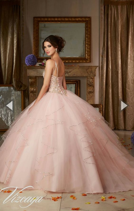 vestidos de xv anos color rosa (3) - Ideas para Fiestas de ...