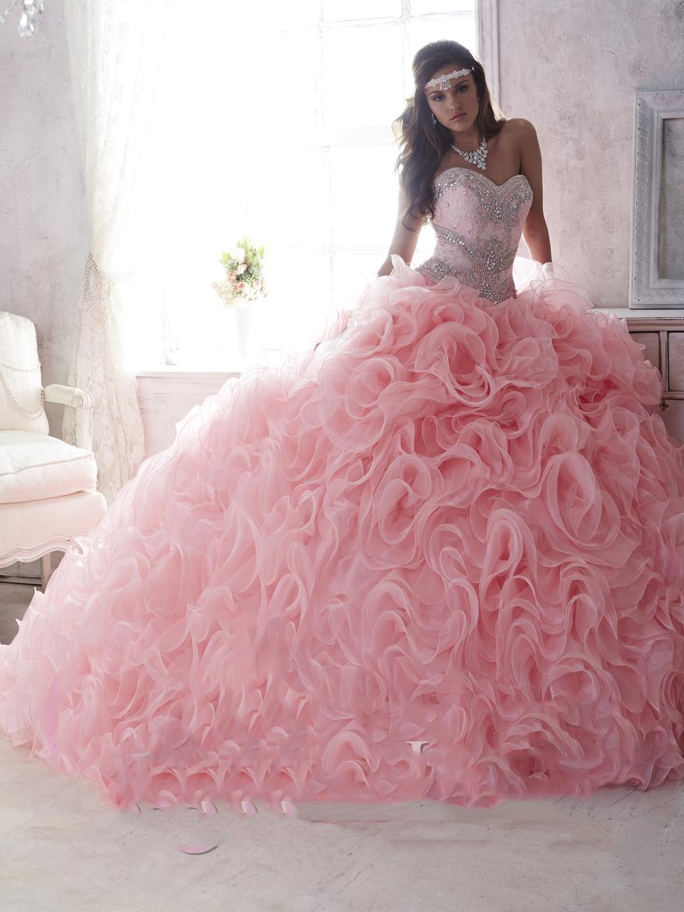 Vestidos de xv color rosa palo dise os de vestidos 2018 for Ideas para quinceaneras