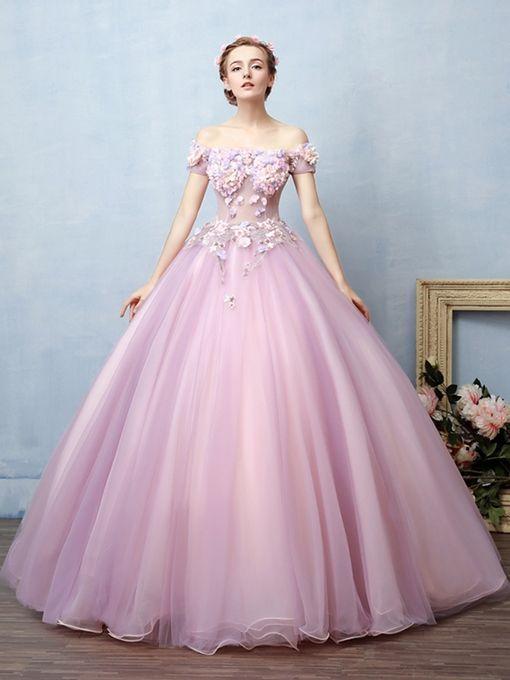 Vestidos para 15 color lila morado o lavanda elegantes y con diseños del 2019