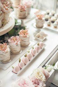Cantidades para montar la mesa de dulces