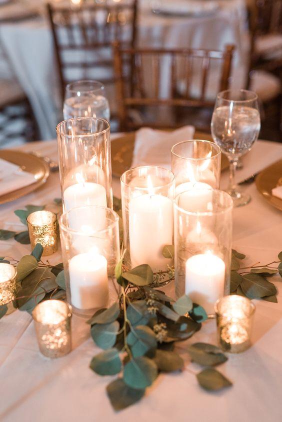 centros de mesa para 15 anos con velas (1)
