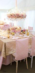 Centros de mesa para 15 años elegantes