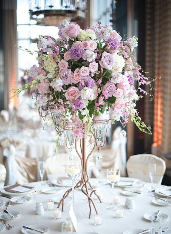centros de mesa para xv anos con flores (1)