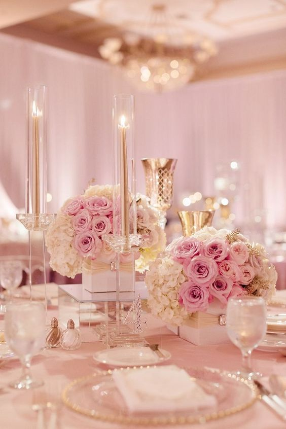 centros de mesa para xv anos con flores (5)