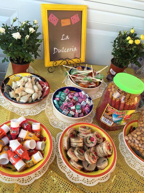 mesas de dulces con caramelos (5)