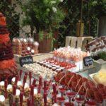 Mesas de dulces saladas y enchilosas