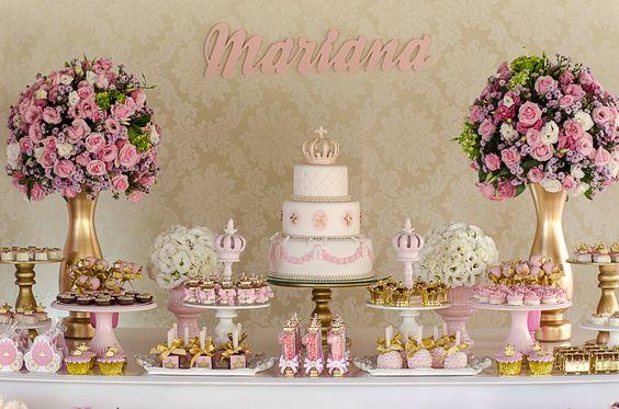 Como hacer una mesa de dulces para 15 años