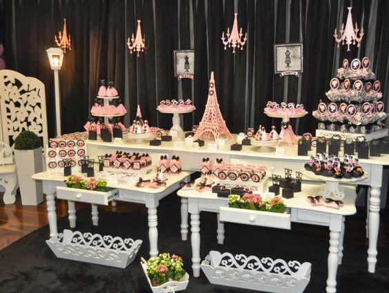 Como hacer una mesa de dulces para 15 a os ideas para for Como hacer una fiesta de 15