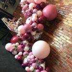 arcos de globos organicos para 15 años (2)