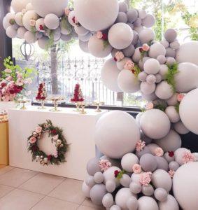 como decorar una fiesta de 15 años con globos (1)