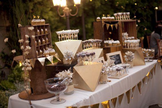 Como hacer una mesa de dulces economica