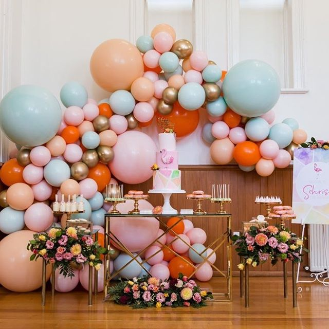 Guirnaldas con globos parar 15 años | Tendencia 2019