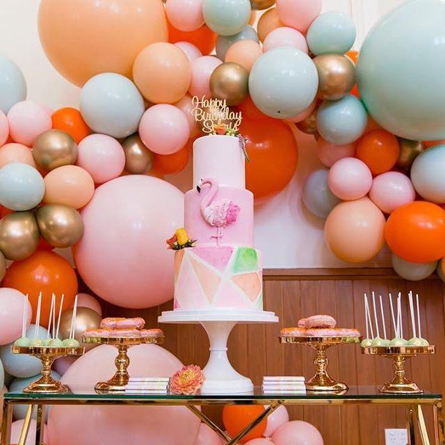 guirnaldas con globos para 15 años (3)
