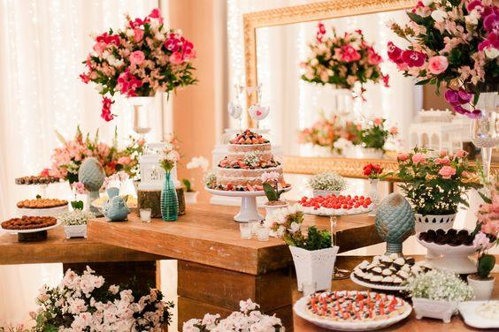 Imagenes de mesas dulces para 15 años