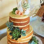 Más diseños de naked cakes