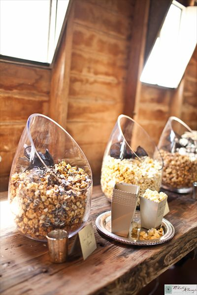 Mesas de dulces modernas
