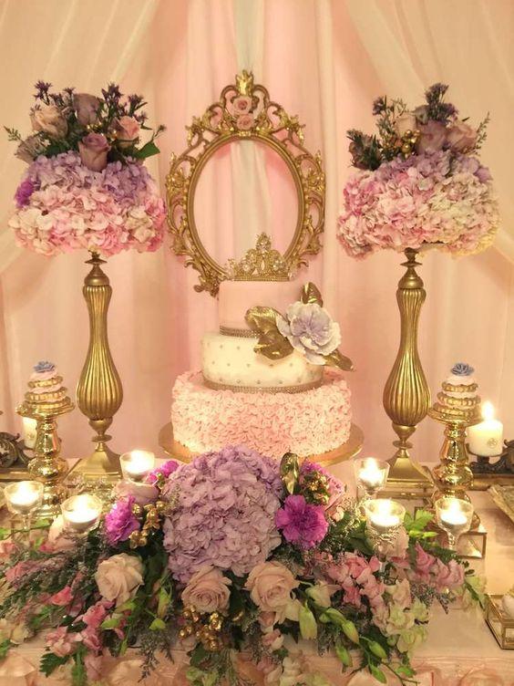 Mesa de dulces tendencias en mesas de dulces para 15 a os for Mesa de dulces para xv anos