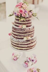 Naked cake Como hacer el pastel para xv años