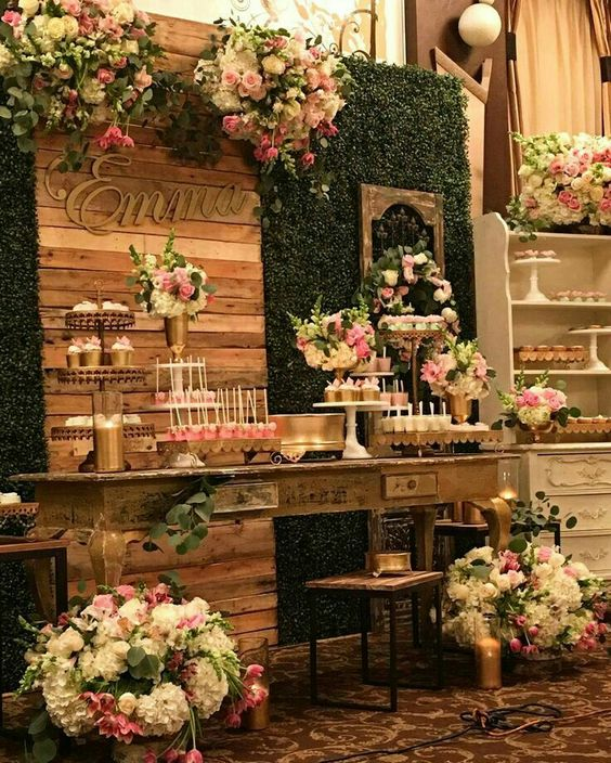 Candy bar for xv years | Trends for candy bar 2018