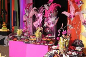 Ideas de candy bar para xv años modernos