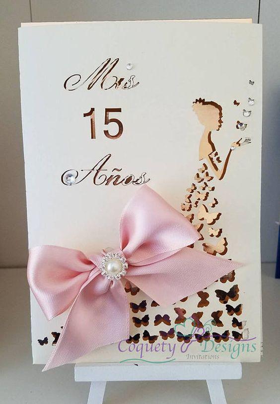 Invitaciones de 15 años