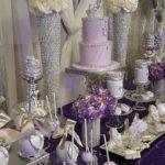 mesa de dulces para 15 años elegantes