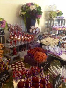 mesa de dulces para 15 años salados