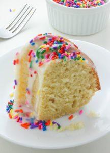 pastel con buttermilk