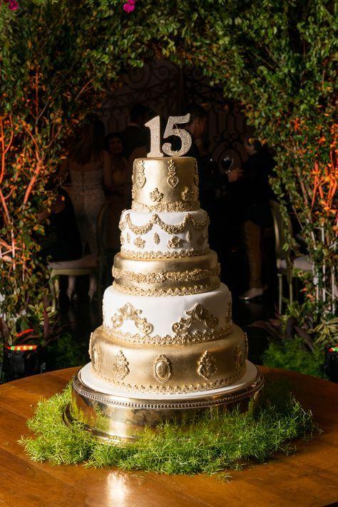 pastel de 15 años modernos
