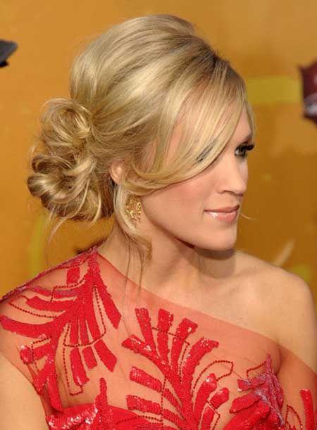 peinados para madrinas de pelo corto