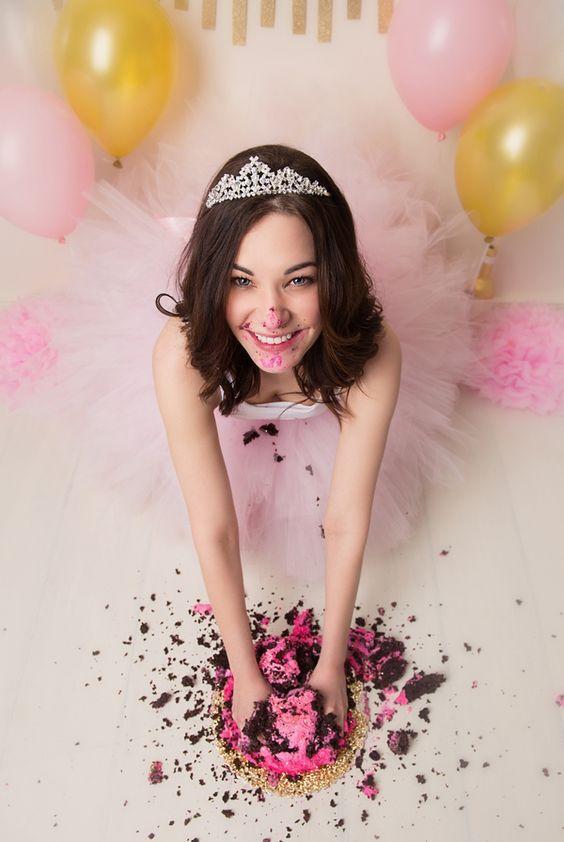 Smash cake para quinceañeras