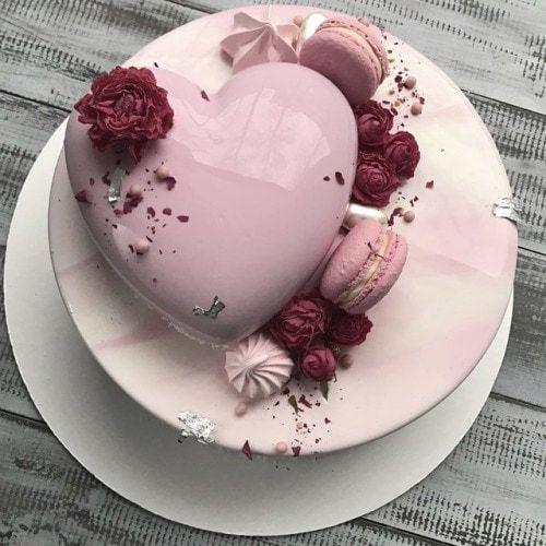 tarta espejo para 15 años