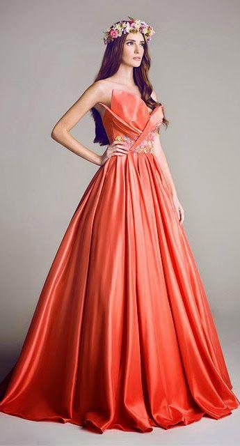 tendencia en color de vestidos para xv años 2019