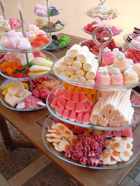 Candy bar para xv años