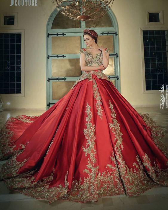 ff871d43e ... vestido de 15 años color rojo 2018