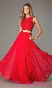 vestidos de 15 años color rojo