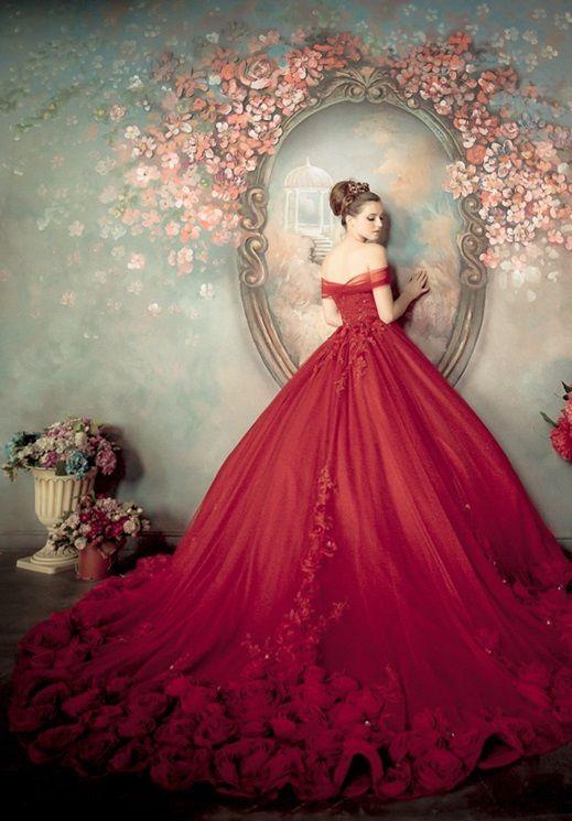 be682b2f7 vestidos de 15 años color rojo largos