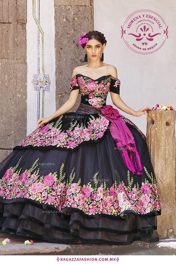 vestidos elegantes de 15 años