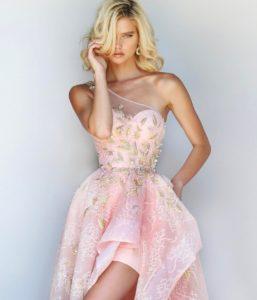 vestidos esponjados cortos para 15 años