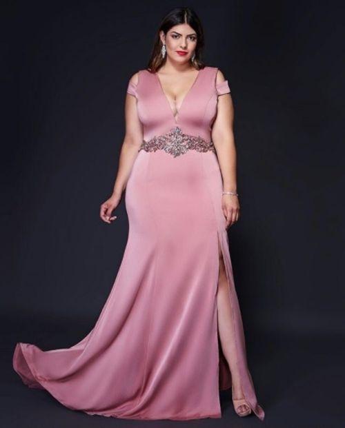 Vestidos para madrina de boda gorditas