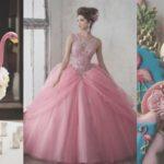 Imágenes de quinceañera temática de flamingo
