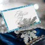 Invitaciones de 15 años temática invierno