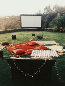 Cinema en casa para festejar 15 años