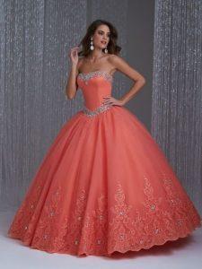 Joyería para combinar con tu vestido de quinceañera strapless