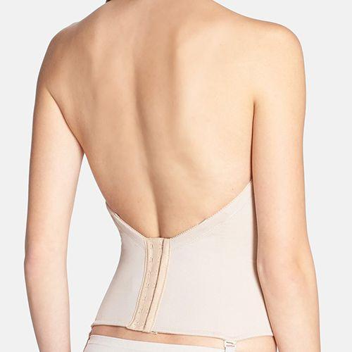 ¿Que usar debajo de un vestido de quinceañera halter?