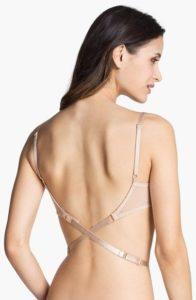Ropa interior para vestidos de 15 años con espalda descubierta