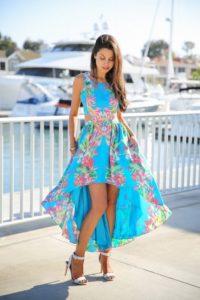 15 años hawaianos vestidos