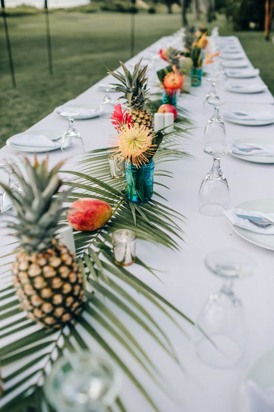 XV hawaiano Ideas para decorar una fiesta hawaiana
