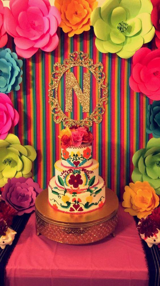 pastel de xv años estilo charro